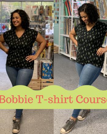 jalie 3880 bobbie t-shirt video course with crafty gemini