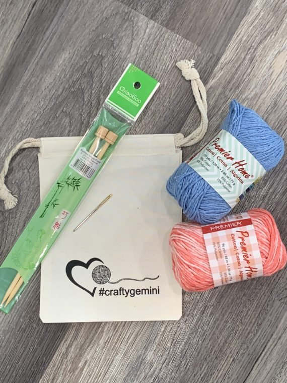 Washcloth Kit for Knitters by Crafty Gemini