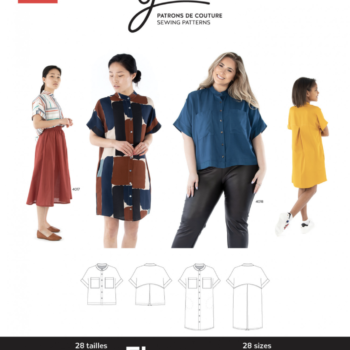 Jalie 4020 FLORENCE Shirt and Shirtdress
