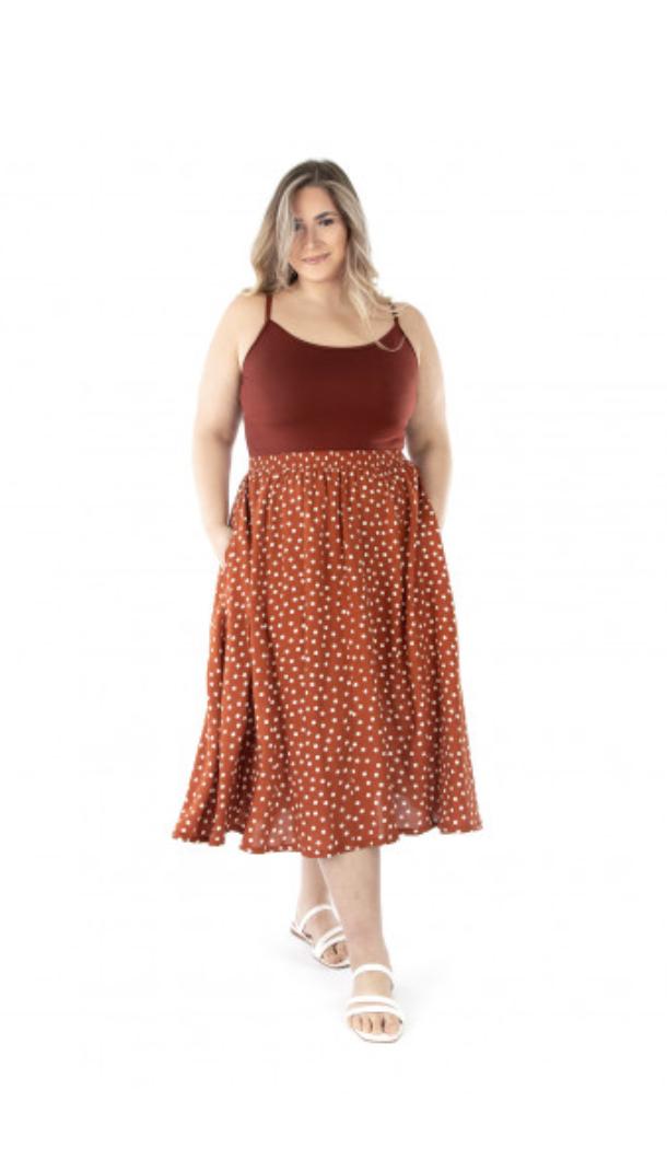 jalie 4017 GENEVIÈVE Pull-on Gathered Skirt