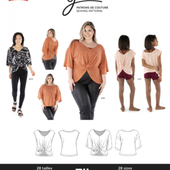 jalie 4015 ELLE Reversible Top