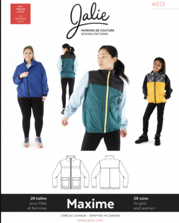 jalie 4012 MAXIME Three-Season Jacket