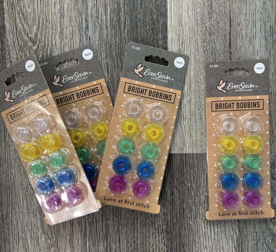 eversewn rainbow bobbins 10 pack
