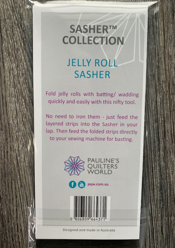 jelly roll sasher tool by pauline's quilters world pqw
