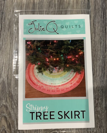 strippy trree skirt patterrn by julieq quilts