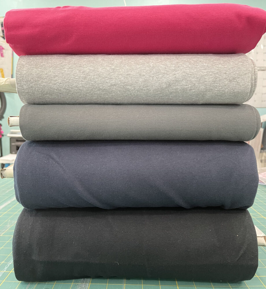 stretch lycra ribbing fabric tubular knit