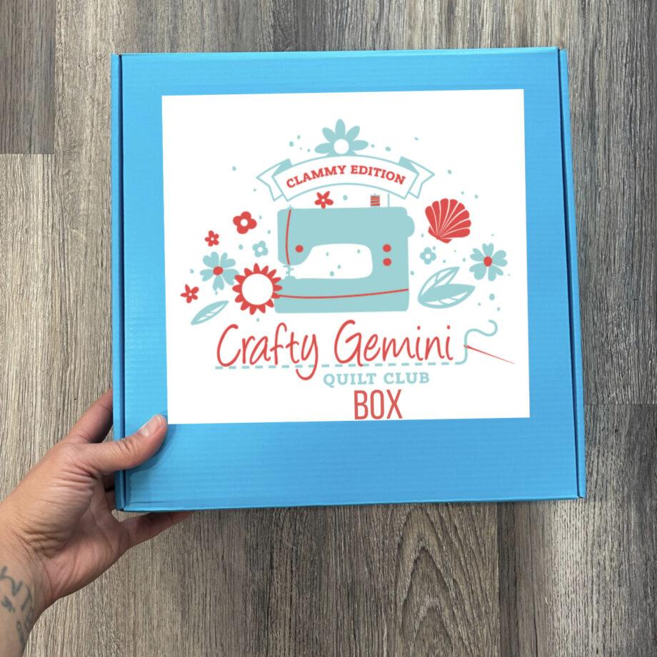 clammy quilt club box