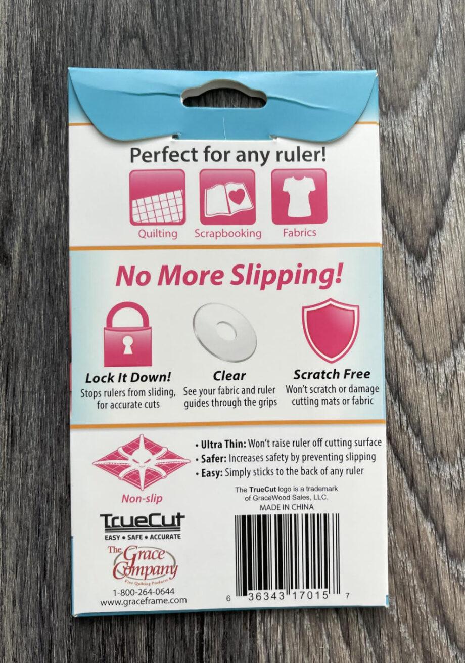 true grips non-slip ruler rings back