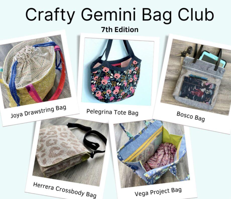 crafty gemini bag club 7th edition