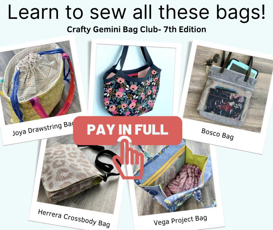 pay in full crafty gemini bag club 7th edition