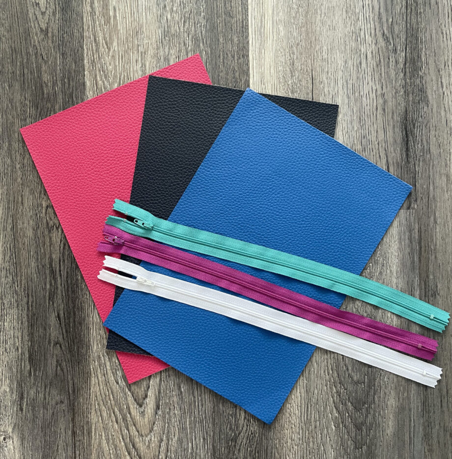 3 pack kit for pinched zipper pouch