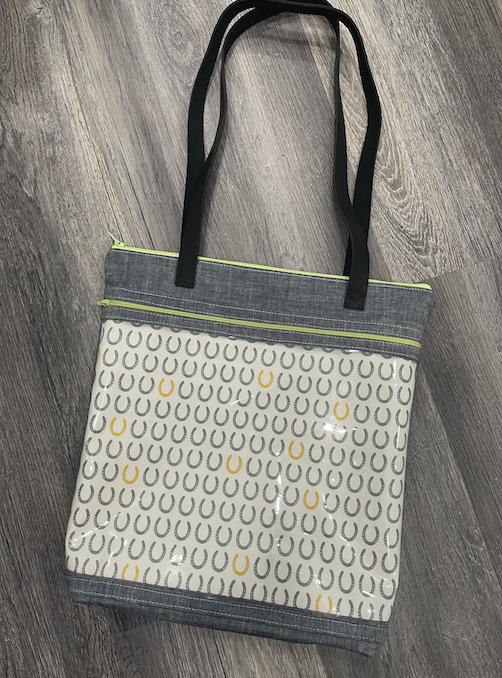 Crafty Gemini Bosco Bag with clear vinyl front pocket