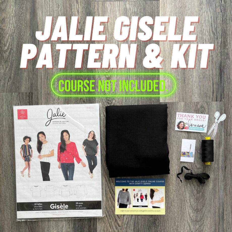Jalie Gisele pattern and kit by crafty gemini