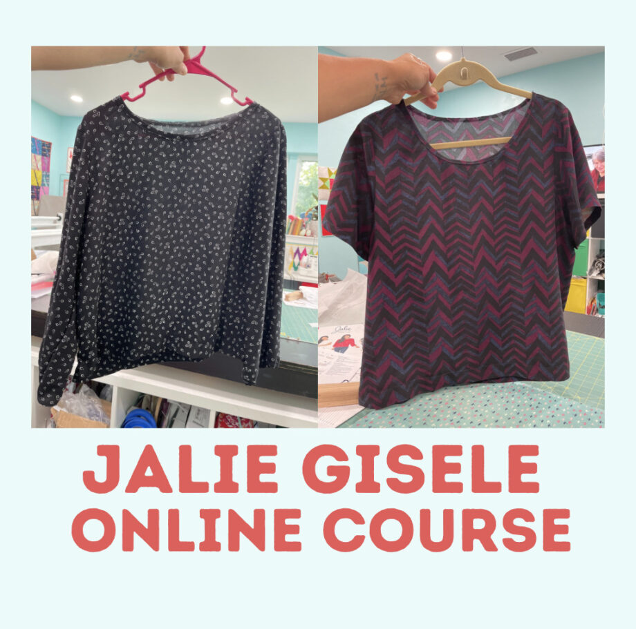 jalie 3905 gisele online sewing course with crafty gemini