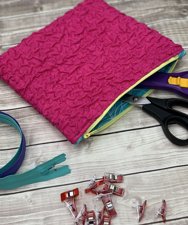 Make Textured Fabric with Crafty Gemini